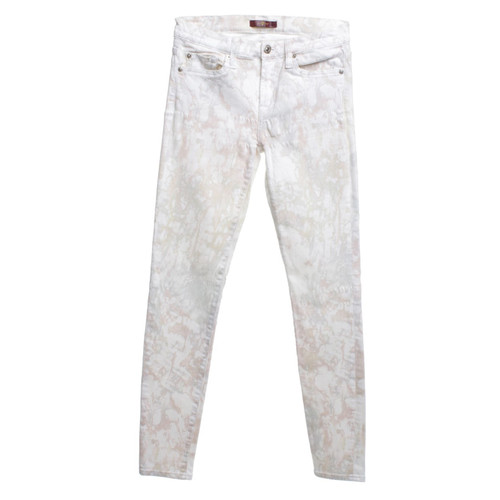 7 for all mankind jeans mit batik muster - Batiken Muster
