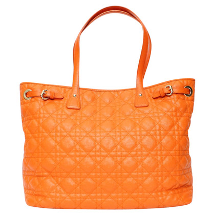 "Christian Dior ""Panarea"" Handtasche in Orange"