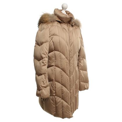 Laurèl Down jacket in beige