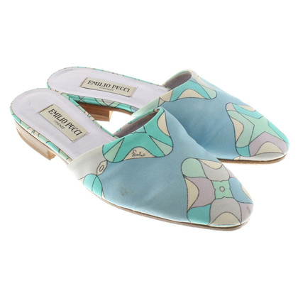 Emilio Pucci Slipper with flower pattern
