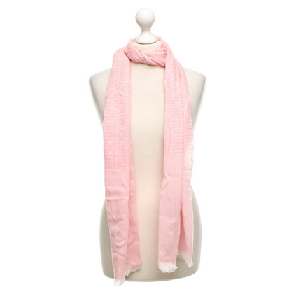 Moschino Scarf in pink