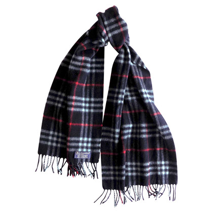 Burberry Cashmere scarf in blue