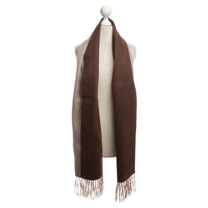 Other Designer Valdoglio - two-colored cashmere scarf
