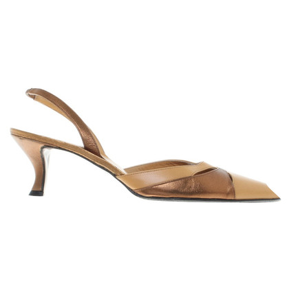 Walter Steiger Slingbacks made of leather