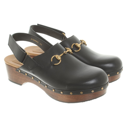 Gucci Clogs in black