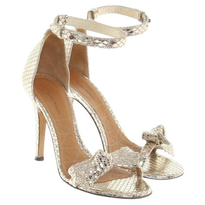 Isabel Marant Sandals in gold