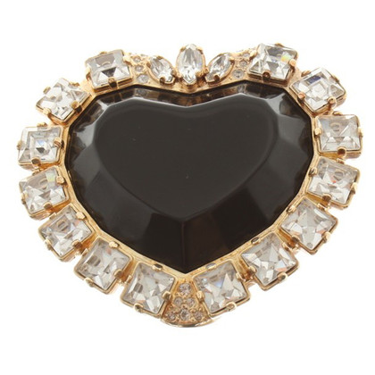 Rena Lange Brooch in the form of heart