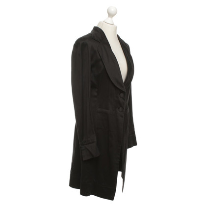 Dries van Noten Lange blazer in zwart