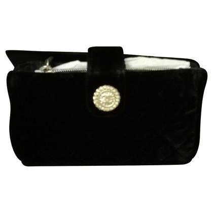 Chanel clutch en velours