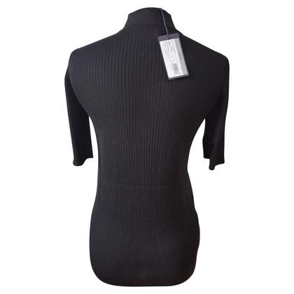 Prada Strick-Shirt in Schwarz