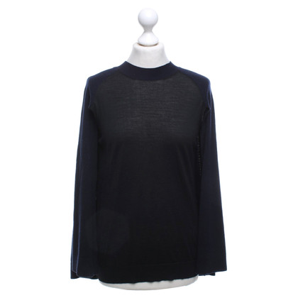 Louis Vuitton Knitted cape in bicolour