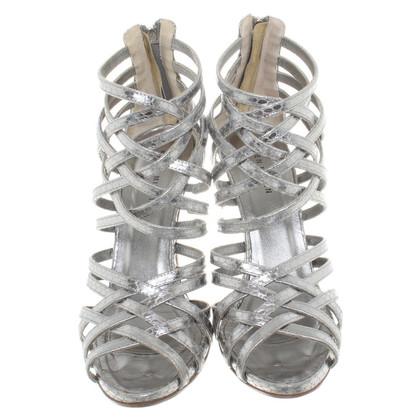 Karen Millen Sandals in metallic look