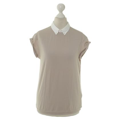 Brunello Cucinelli Shirt mit Blusenkragen