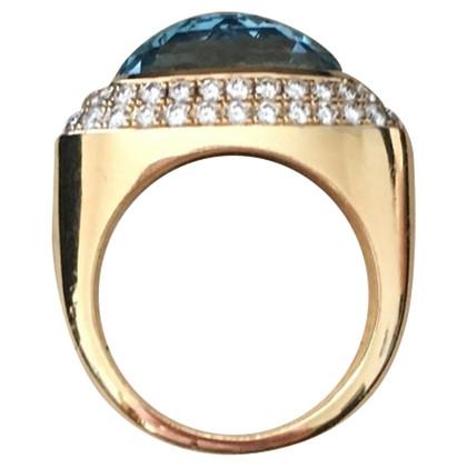 Chopard Geel gouden ring met steen
