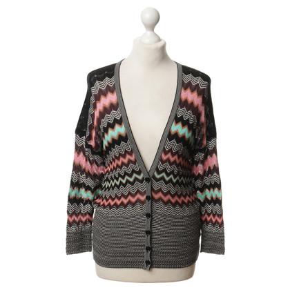Missoni Knit Jacket with zigzag pattern