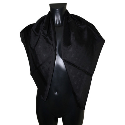 Giorgio Armani Silk scarf in black