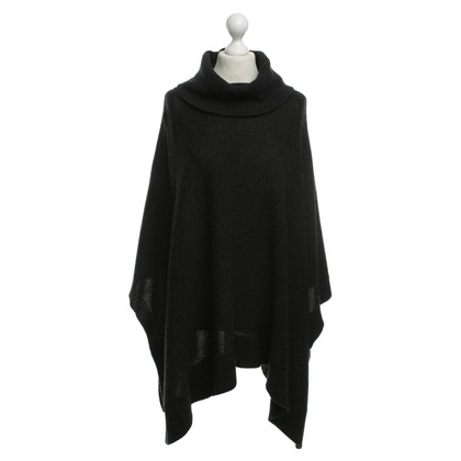 Blonde No8 Cape in anthracite