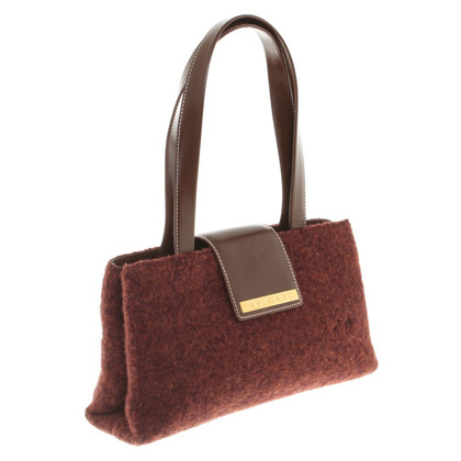 Bulgari Handbag in red brown
