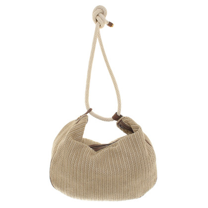 Borbonese Shopper in Beige