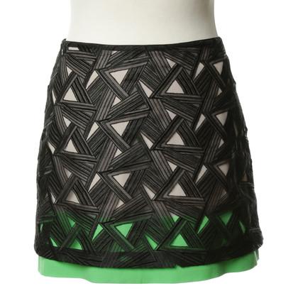 Diane von Furstenberg Mini skirt in color-blocking