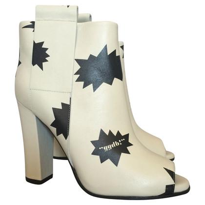 Golden Goose Peeptoe boots