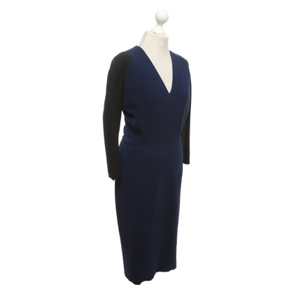 Victoria Beckham Dress in blue / black