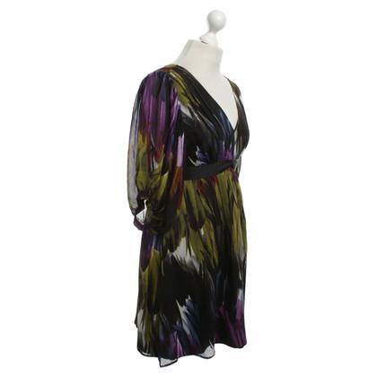 Ted Baker Waisted silk dress