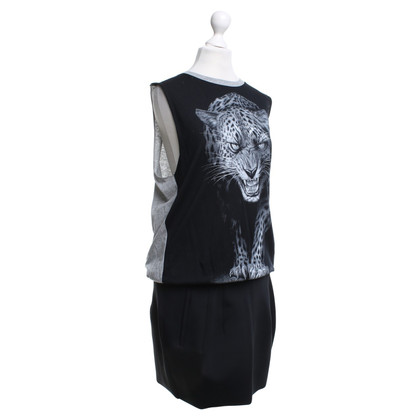 Faith Connexion Sportive dress with tiger motif