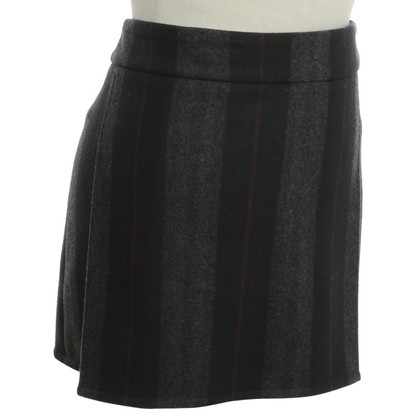 Burberry skirt with stripe pattern