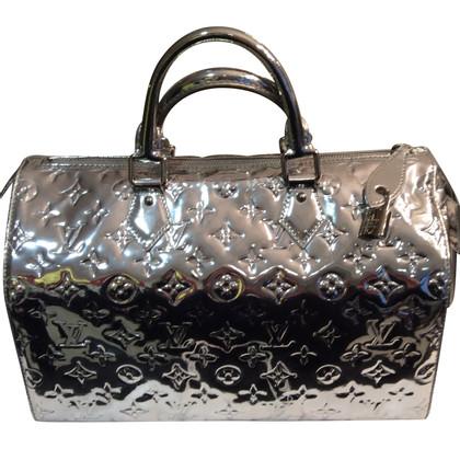 Louis Vuitton Handtasche aus Monogram Vernis Silver