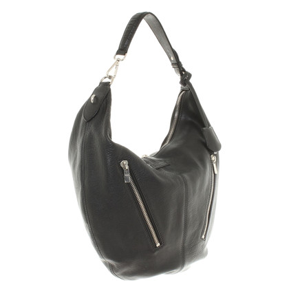 Alexander McQueen Boho Bag in nero