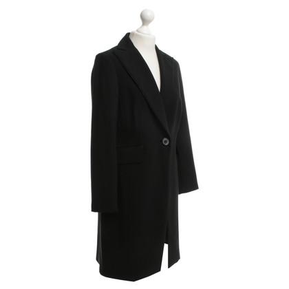 Barbara Schwarzer Tuxedo Blazer in zwart