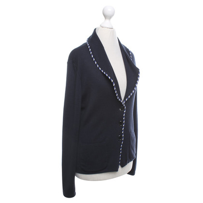 Escada Knitted blazer in dark blue