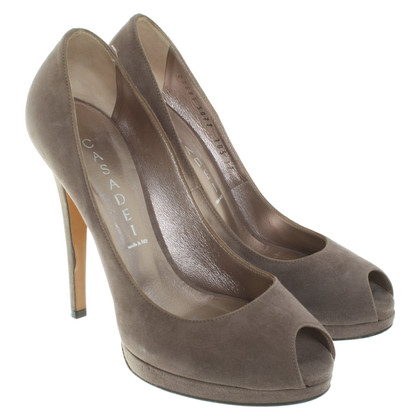 Casadei pumps in taupe