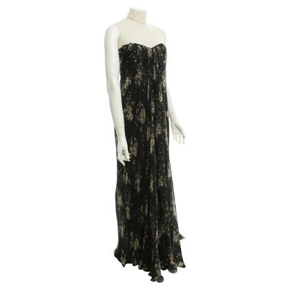 Alexander McQueen Abendkleid mit floralem Muster