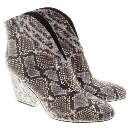 Diane von Furstenberg Ankle boots with Animalprint
