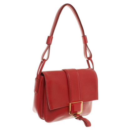 Vionnet Handtas in Red