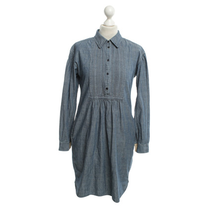 burberry wallet sale outlet saww  Burberry Blouse dress in blue