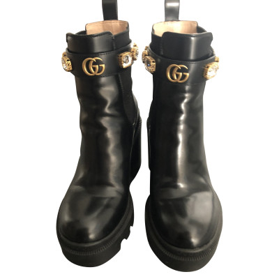 1bb744f68d4 Gucci Ankle boots Second Hand  Gucci Ankle boots Online Store