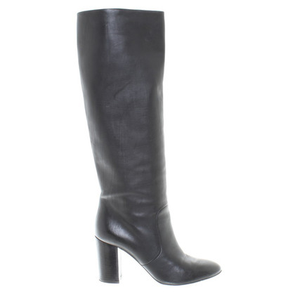 Lanvin Black boots made of leather