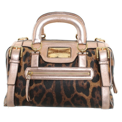 Dolce & Gabbana Handbag with Animalprint