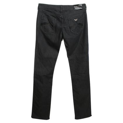 Armani Jeans Jeans in Schwarz