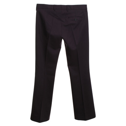 Miu Miu trousers in eggplant