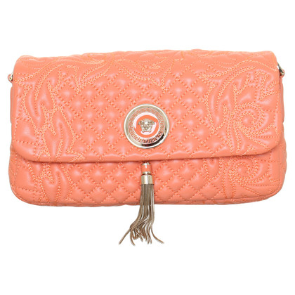 Gianni Versace Purse in coral red