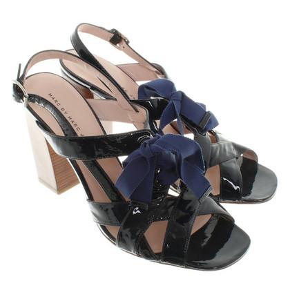 Marc Jacobs Sandaletten aus Lackleder
