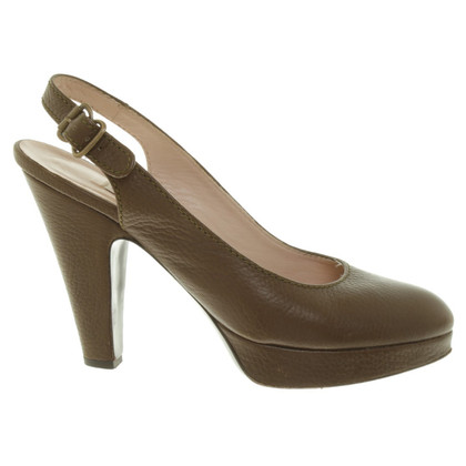 L'autre Chose pumps in leather