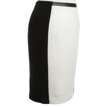 Calvin Klein skirt in black / white