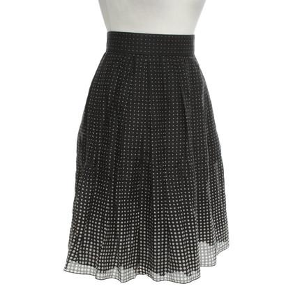 Paule Ka skirt with dot pattern