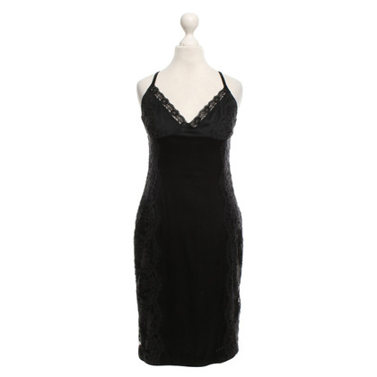 Dolce & Gabbana Silk dress in black