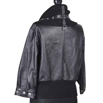 Versace vintage Versace leather jacket